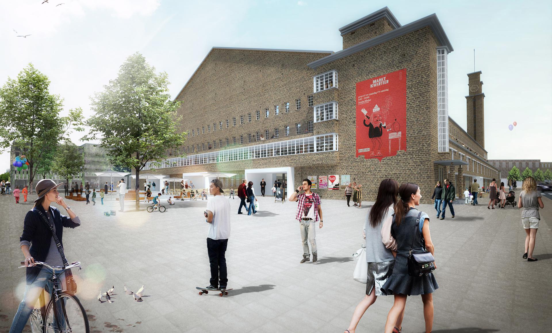 Branding En Magazine Van Food Center Amsterdam